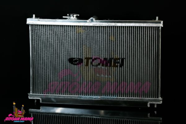 Алюминиевый радиатор Subaru Impreza WRX 2002-2007 (42mm. / AT / 2 ряда / подходит на MT) (CS001)