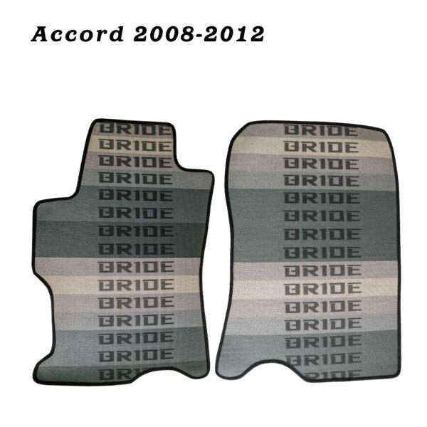 Антискользящие коврики для автомобиля Honda Accord 2008-2012 в стиле Bride (полный комплект)