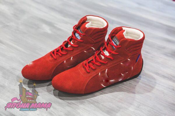 Ботинки / Обувь для автоспорта FIA 8856-2000 (красные)
