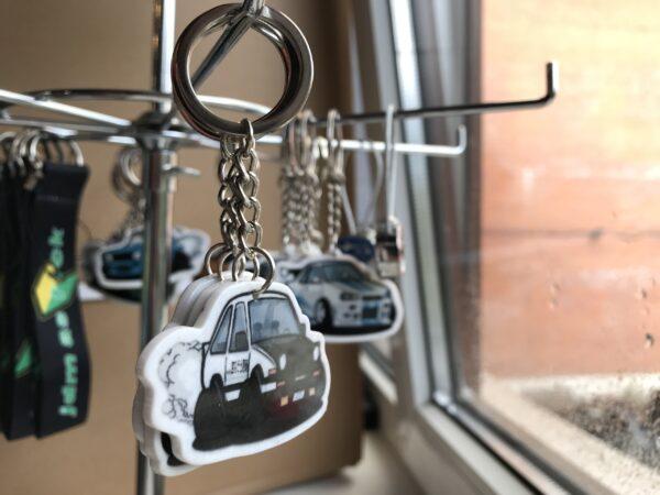 Брелок акриловый для ключей Toyota AE86 Drift
