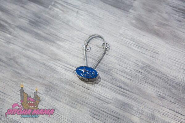 Брелок для ключей металлический Subaru