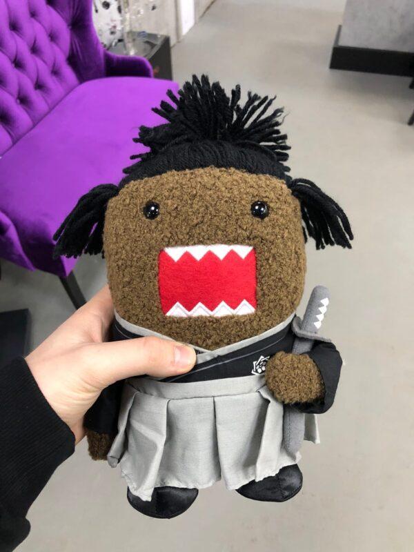 Домо Кун популярная игрушка в стиле самурая ver. 2