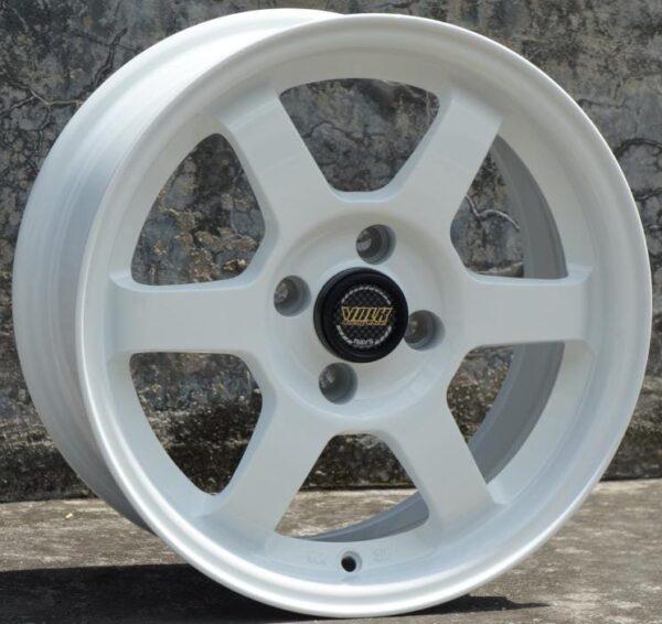 Комплект дисков Volk Racing TE37 R15 7j ET35 4x100 73.1 (белые)