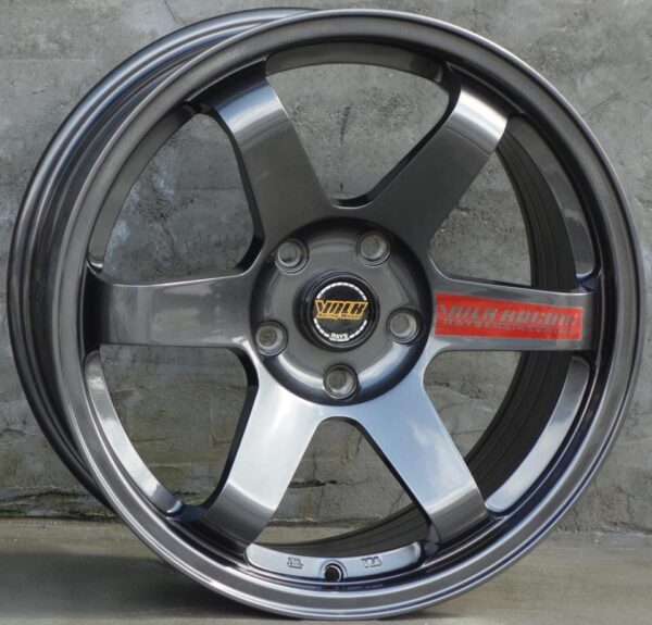 Комплект дисков Volk Racing TE37 R17 8j ET35 5x114.3 (мокрый асфальт)