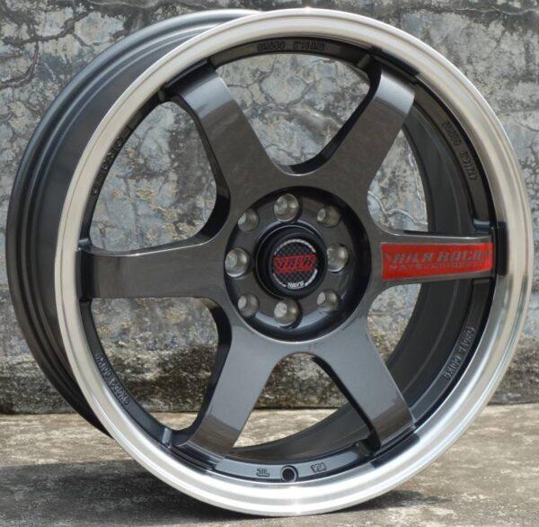 Комплект дисков Volk Racing TE37 R18 9j ET35 5x114.3 73.1 (мокрый асфальт)