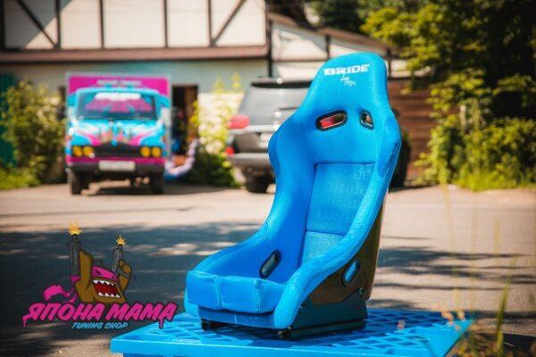 Ковш Bride Low Max 34, синий размер (до 80 кг)
