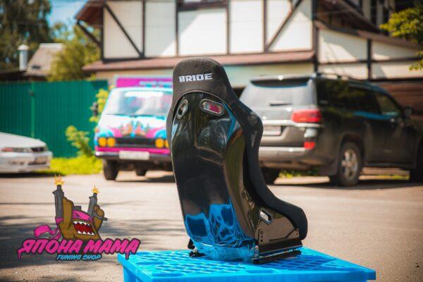 Ковш Bride Low Max 36, черный размер (от 80 до 90 кг)