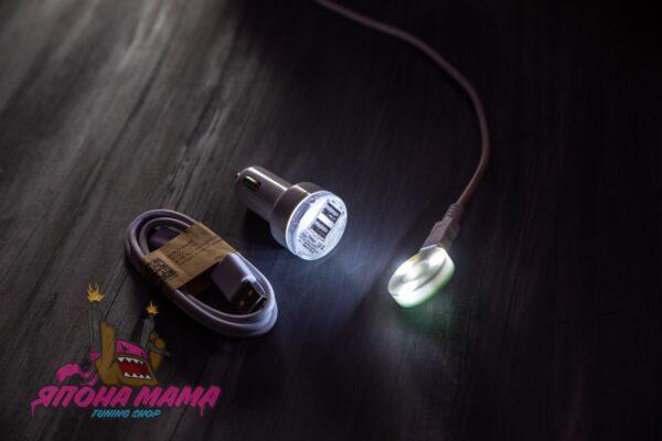 LED подсветка для ручек переключения передач в стиле JDM