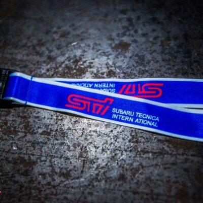 Лента Subaru Tecnica International для ключей синяя (бэйджкипер)