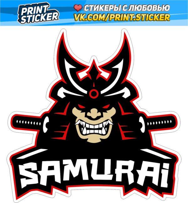 Наклейка SAMURAI