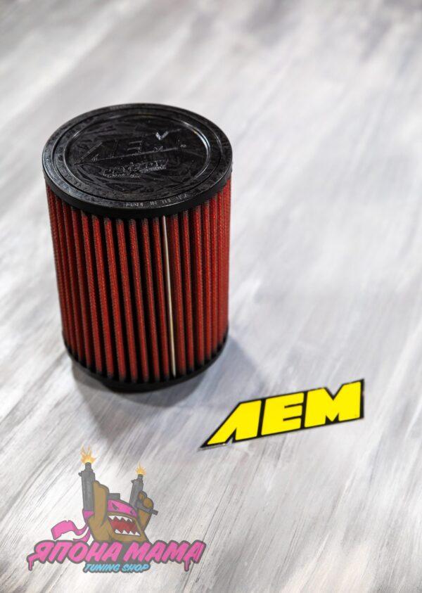 Оригинальный воздушный фильтр нулевого сопротивления AEM посадочный d=76mm