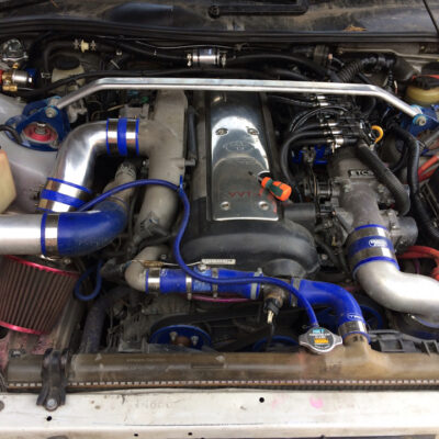 Пайп на дроссель Toyota JZX 90 - 100