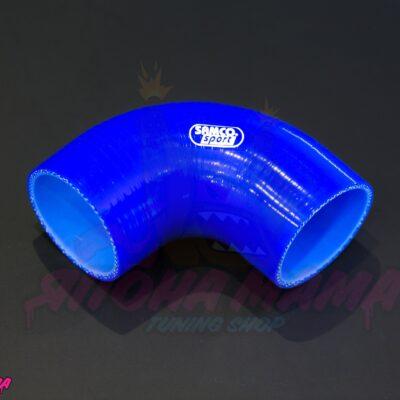 Патрубок силиконовый 80 mm. 90 градусов