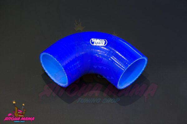 Патрубок силиконовый 60-70 mm. 90 градусов