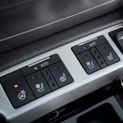 Полный комплект блок управления подогрев сидений, руля, вентиляция сидений Land Cruiser 200 2016+