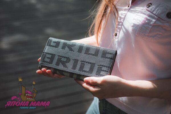 Портмоне Bride для JDM'щиков и Дрифтеров (серый)