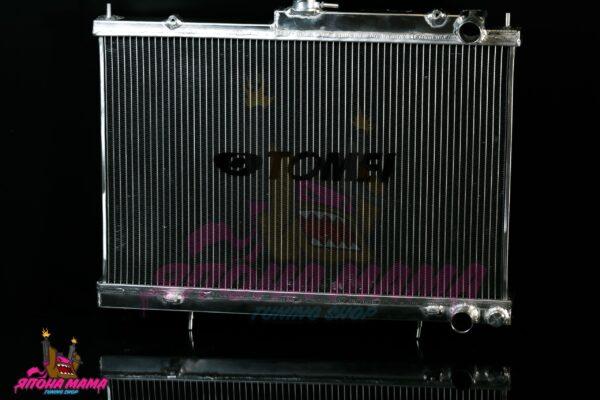 Радиатор охлаждения алюминиевый Nissan Skyline r33 RB25DET (42mm. / AT / 2 ряда / подходит на MT) (GZ006BA)