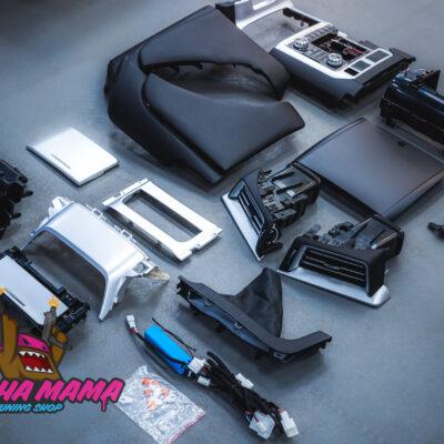 Рестайлинг салона Toyota Land Cruiser 200