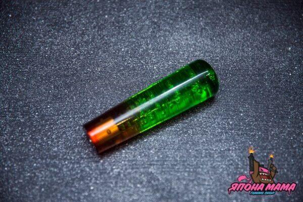 Ручка переключения передач в стиле JDM 15cm. (круглая/2 цвета)