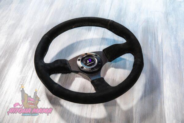 Руль оригинальный Lines Racing замшевый минимальный вынос