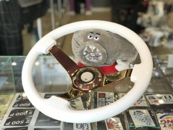 Руль под проектные авто Limited Edition White / Gold