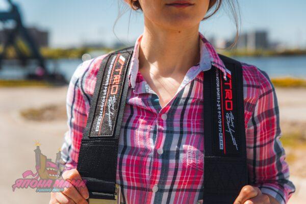Рюкзак Bride TRD NEW - черный для JDM'щиков и Дрифтеров