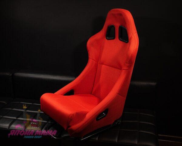 Спортивное сиденье ковш Drift Series (красного цвета)
