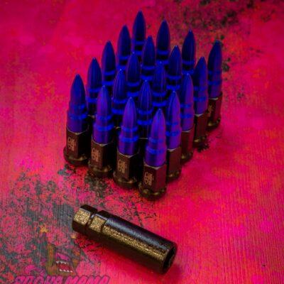 Спортивные колесные гайки Blox пули (синие)