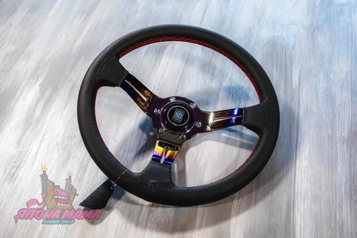 Спортивный руль Nardi Competition Titan из перфорированной кожи