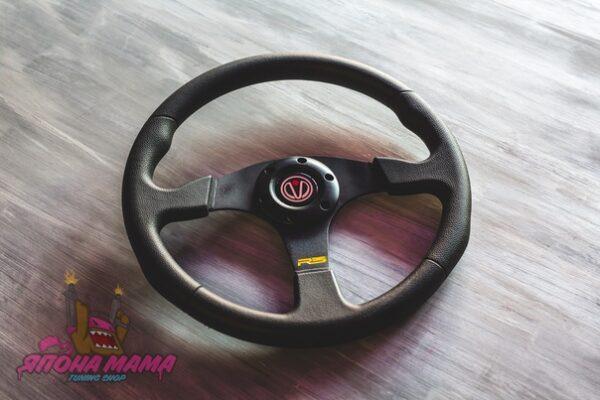 Спортивный руль RS без вылета бюджетный