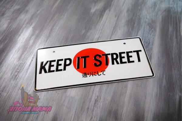 Японский номер Keep it street