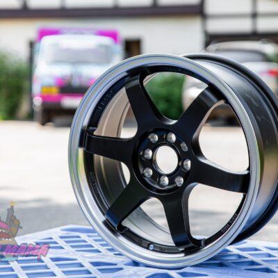 Комплект дисков Volk Racing TE37 R18 8j ET40 5x114.3 (черно матовые)