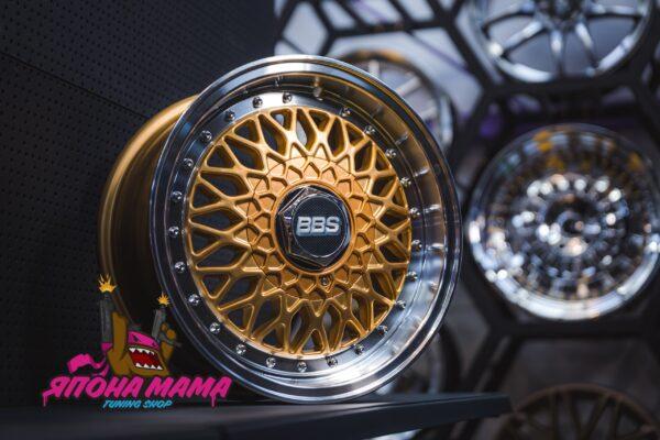 Комплект дисков BBS RS R15 7j ET35 5x100 / 114.3 (золото)