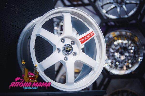 Комплект дисков Volk Racing TE37 R18 8.5j ET38 5x114.3 (белые)
