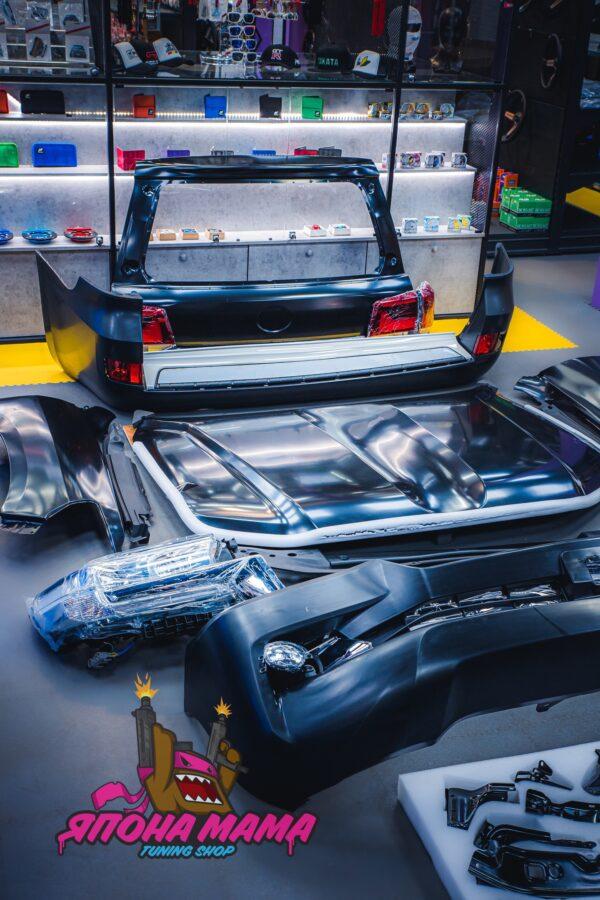 Комплект рестайлинга Toyota Land Cruiser 200