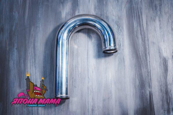 Патрубок алюминиевый диаметр 70 mm., длинна 500 mm. (J образный)