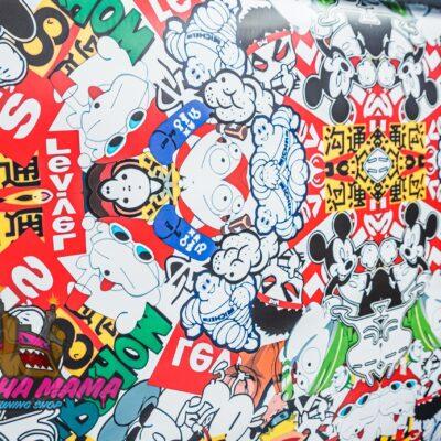 Пленка Sticker Bombing №3 на отрез ( 1m. x 1.5m )