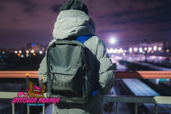Рюкзак Bride Sparco для JDM'щиков и Дрифтеров (полностью чёрный)