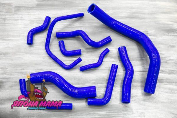 Силиконовые патрубки всей системы охлаждения Nissan Silvia S13/S14/S15/200SX SR20DET (Nis-17)